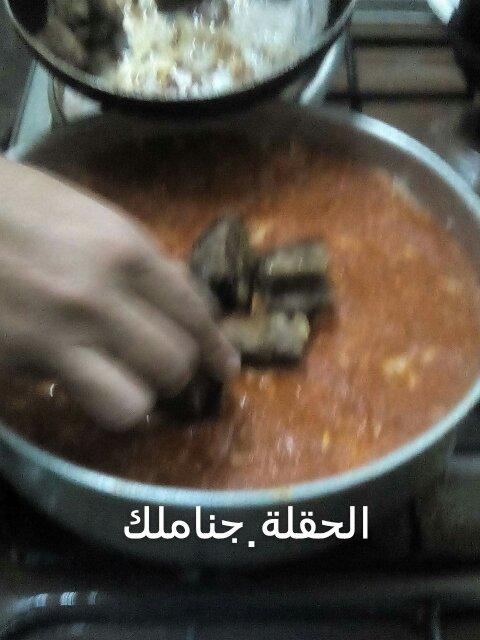 طريقة الفتة المصرية باللحم حصرية طريقة الفتة المصرية باللحم حصرية