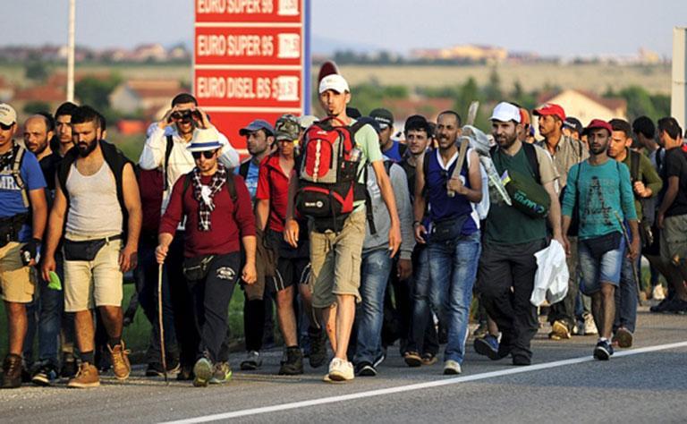 الحكومة الالمانية تقرر إعادة بعض المهاجرين إلى اليونان