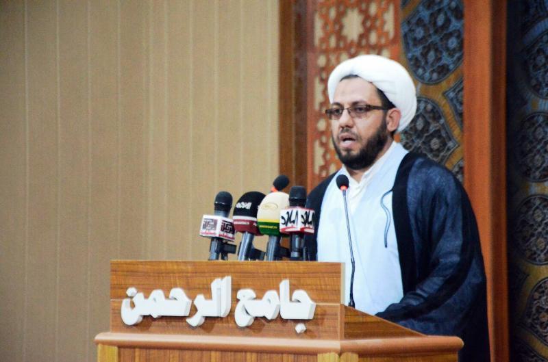 خطيب جمعة بغداد: عاشوراء موسم رفض الظلم والظالمين ونطالب باستقالة المسؤولين