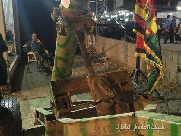 النجف تقيم معرضا لغنائم أسلحة داعش وتعرض سيفا للكنيست الاسرائيلي