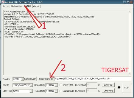 تحويل ICONE I3030 إلى SPIDER T666 و إرجاعه إلى أصله