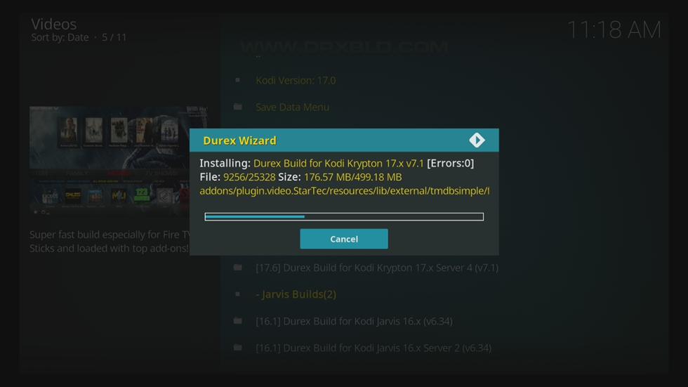 اليكم تنصيب Kodi Forever-Android اضافة