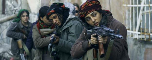 المقاتلات الكرديات في فيلم للفرنسية إيفا هيسون، فرحاني بدور القائدة بهار
