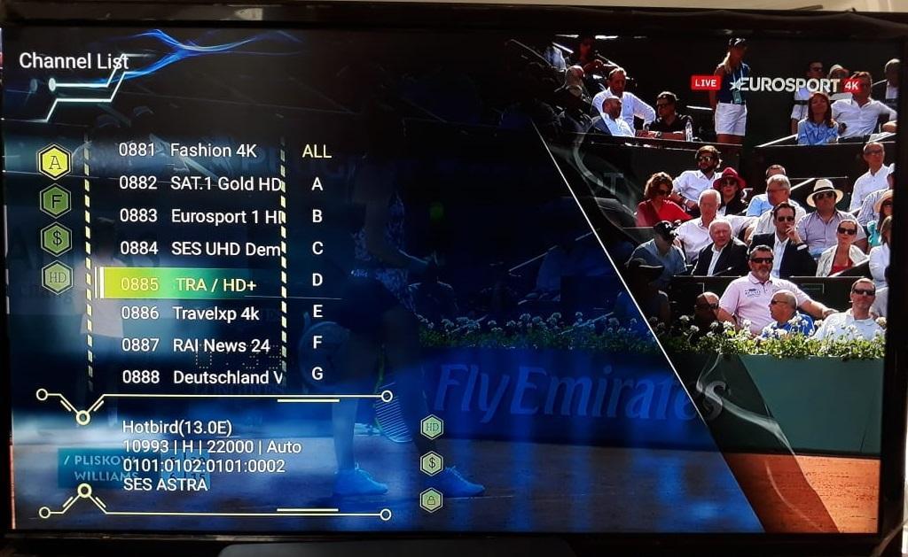 تقديم الجهاز العملاق VISION EDGE 4K الفوريفر و الأندرويد و سمارت و 4K حقيقة