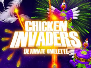 لعبه الفراخ Chicken Invaders تحفه