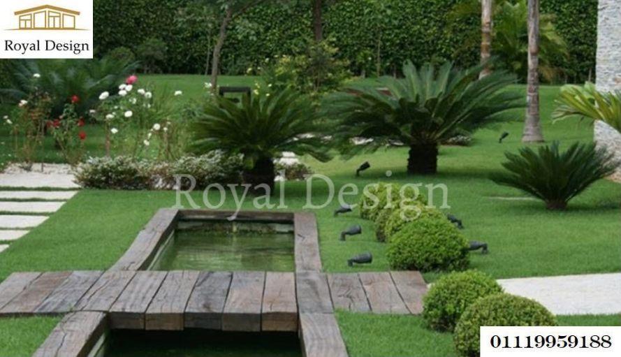 تصميم حدائق فلل - صور تنسيق حدائق 471107497