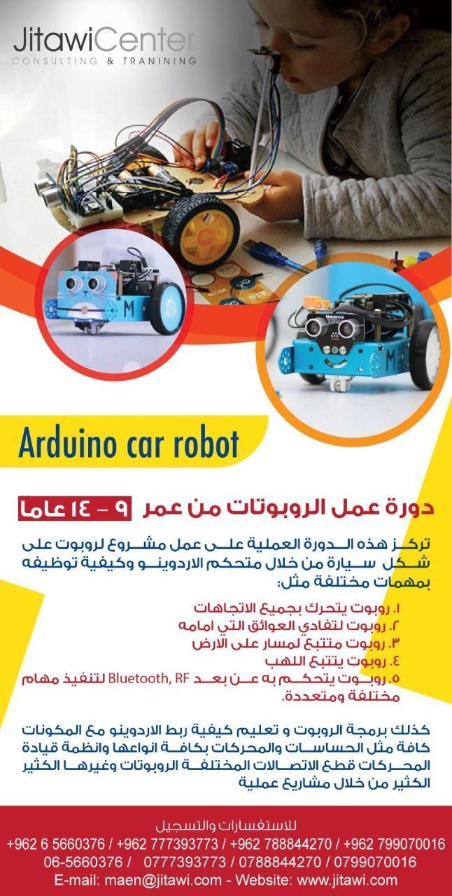 الروبوتات الاردن