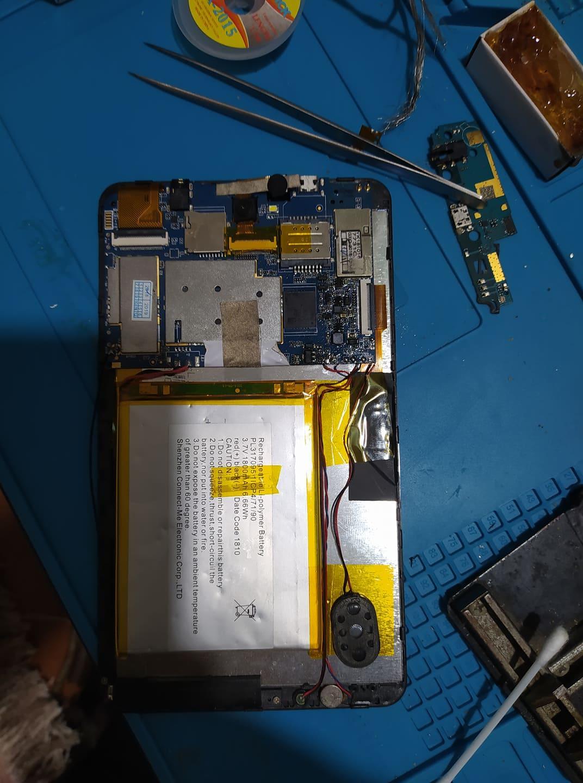 تغيير وبرمجة EMMC  Zentality C-723 Ultra